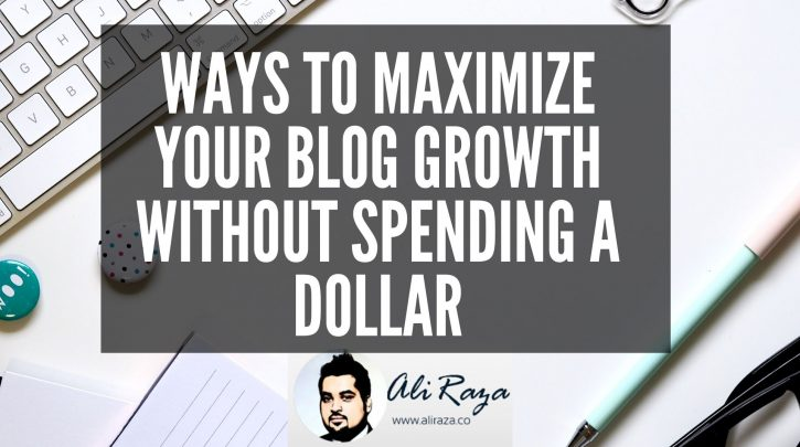 Ways to Maximize Your Blog Growth without Spending a Dollar